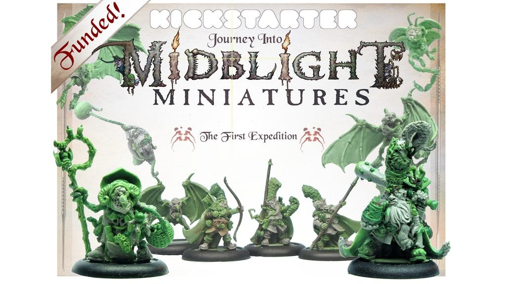 The First Expedition - Midblight Miniatures