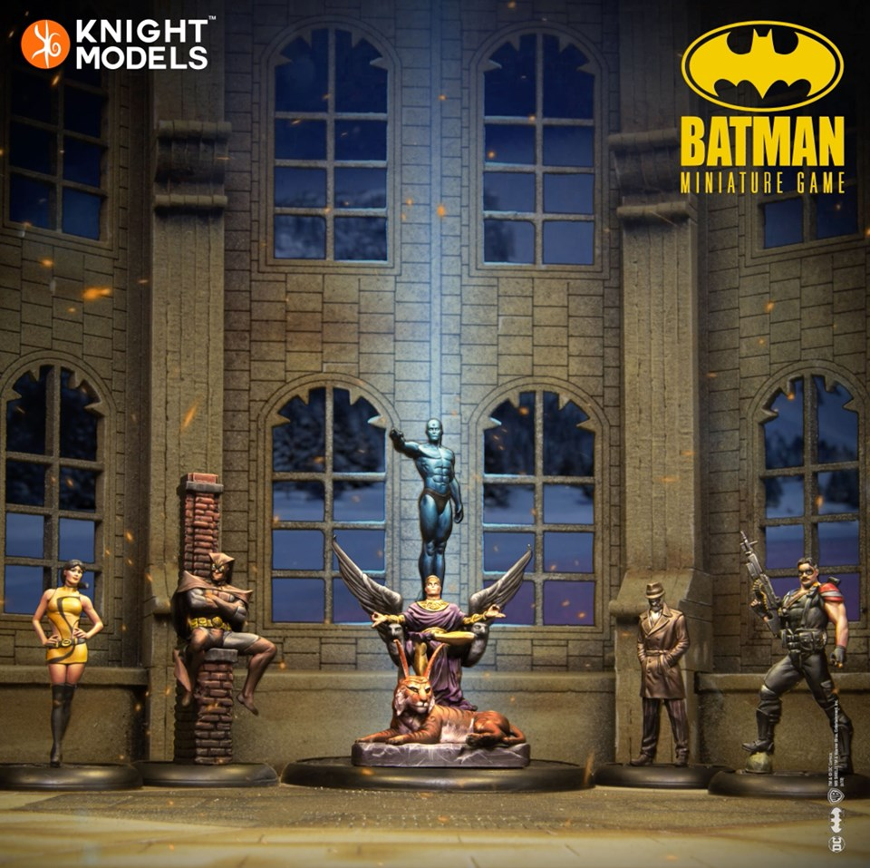 The Watchmen - Knight Models