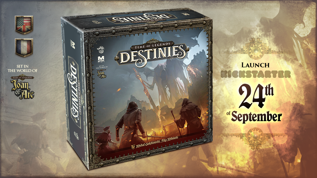 Time Of Legends Destinies - Lucky Duck Games