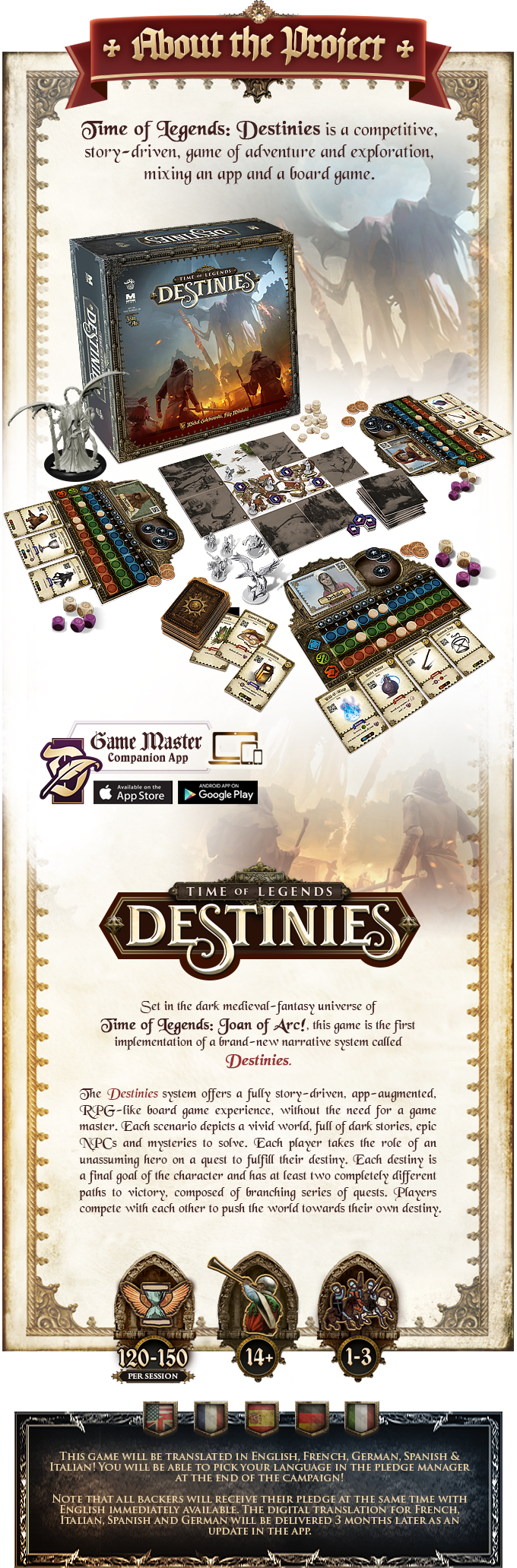 Time Of Legends Destinies - Mythic & Lucky Duck