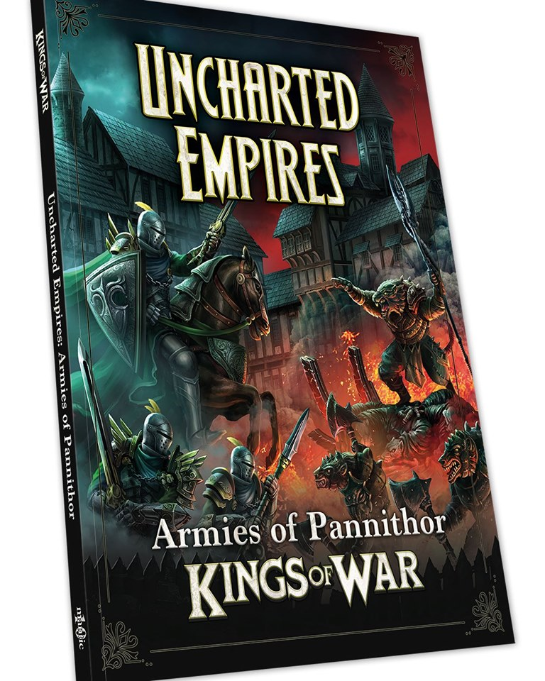 Uncharted Armies Kings Of War - Mantic Games