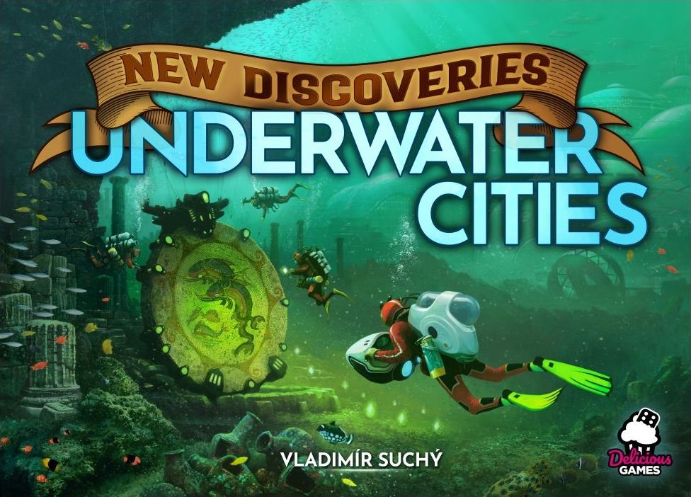 Underwater Cities New Discoveries - Delicious Games