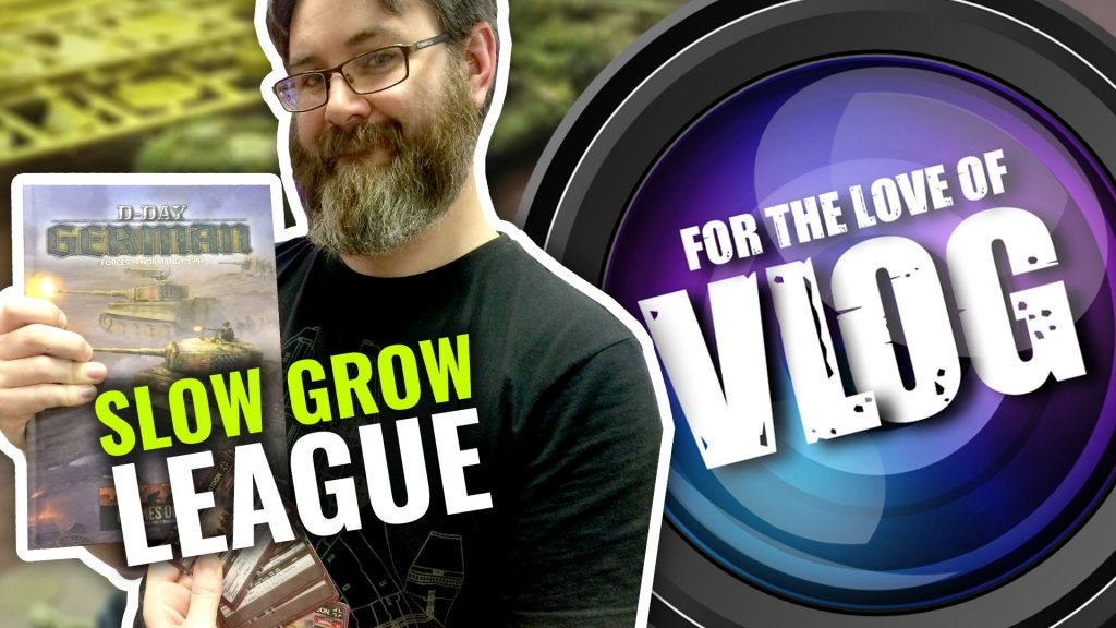 Vlog: Calculating Flames of War Slow Grow League