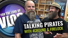 VLOG: Talking Pirates With 4Ground & Firelock Games