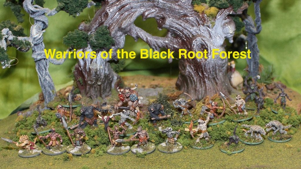 Warriors Of The Black Root Forest Main - Splintered Light Miniatures