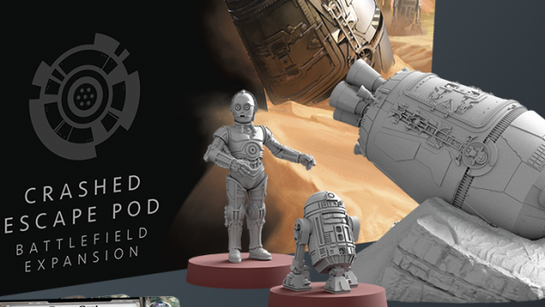 Hunt Down An Escape Pod With New Star Wars: Legion Terrain