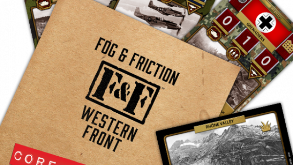 Warcradle Studios Discuss New WWII Card Game, Fog & Friction