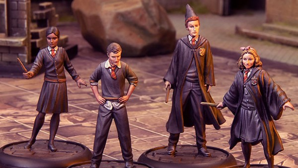 Collect Gryffindor Students With New Knight Models Releases
