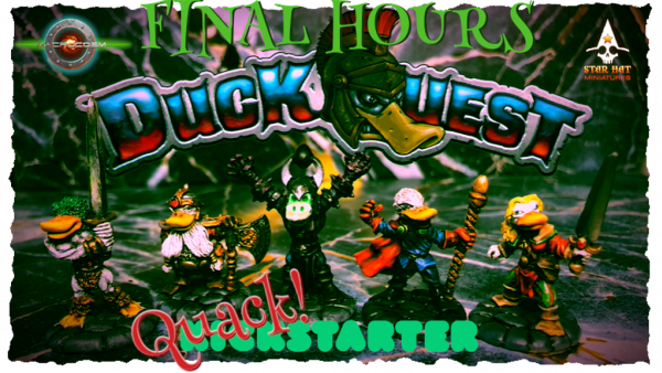 Heroic DuckQuest Kickstarter Enters Final Day Of Fundraising