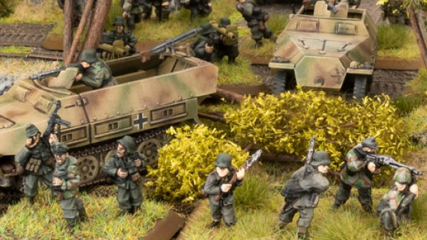German Troops Mass To Stop The Allies This Week In Flames Of War
