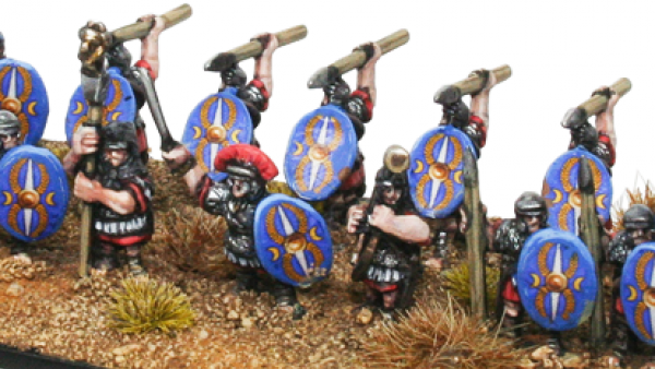 More 10mm Previews Introduce Gripping Beast's Romans