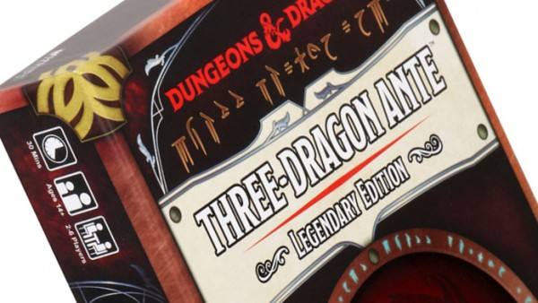 Classic Three-Dragon Ante Returns With WizKids Legendary Edition
