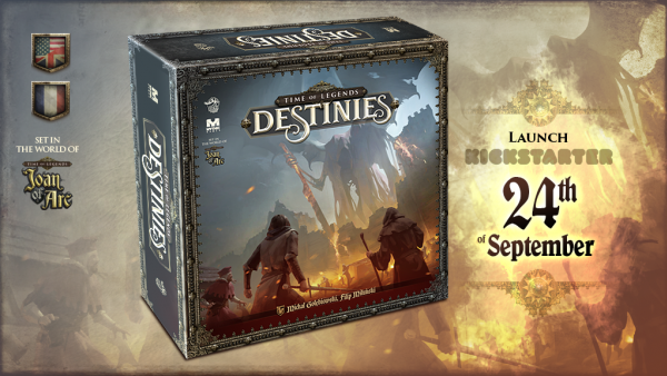 Lucky Duck & Mythic Preview Time Of Legends: Destinies Kickstarter