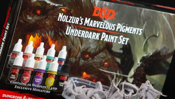 The Army Painter Releasing D&D Underdark Paint Set Soon