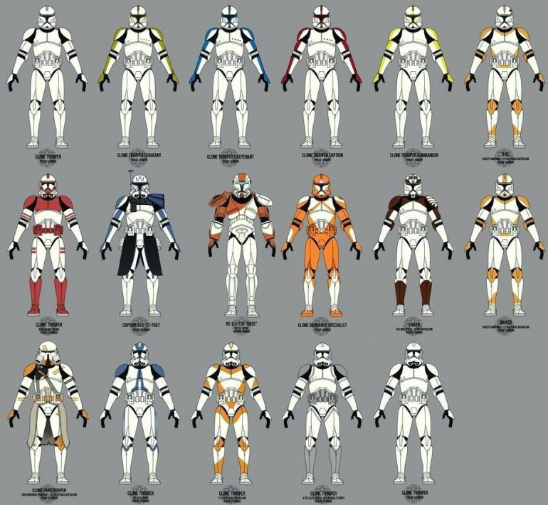 Some guide ideas for a slash of colour on these troopers