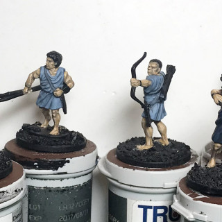 Athenian Light and support Troops