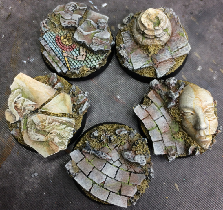 MicroArtStudios' Halodyne range bases. 25mm and the detail and design of these bad boys are just stunning!