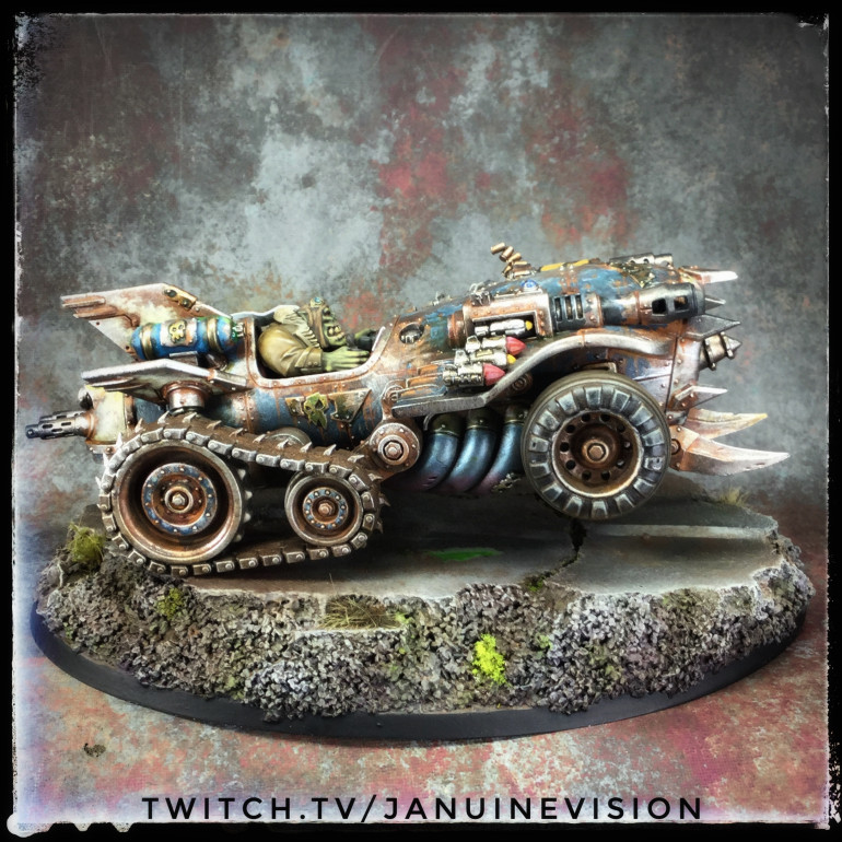 Dungeons & Dragons Finished & an Ork Racer done too!!!