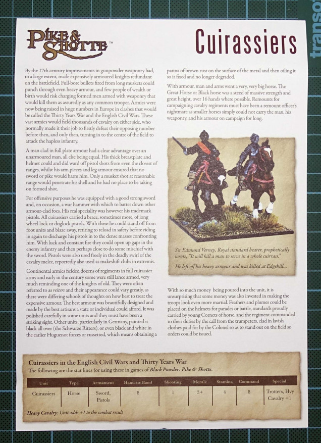 Inbox review – Cuirassiers from Warlord Games