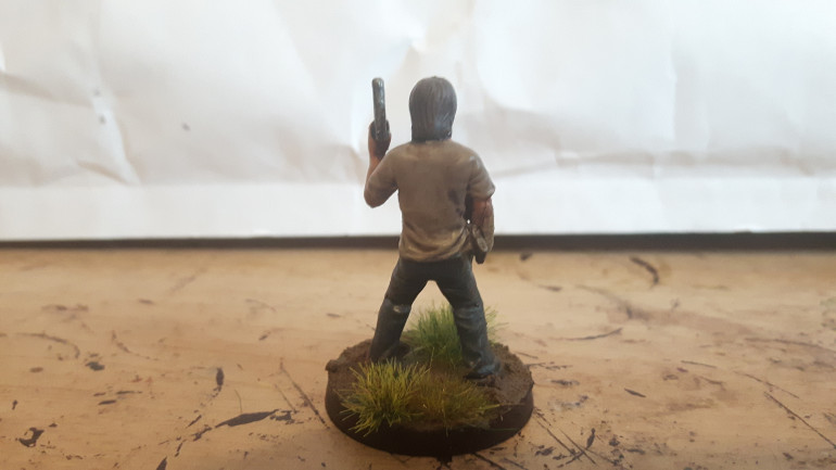 Rick, Disfigured but Determined