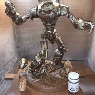 Painting Liberty Prime