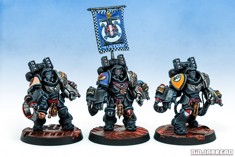 Deathwatch Primaris Aggressors