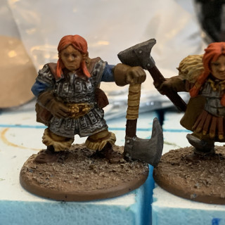 Shieldmaiden update