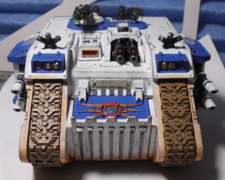 Winter is coming: Land Raider Phobos done: