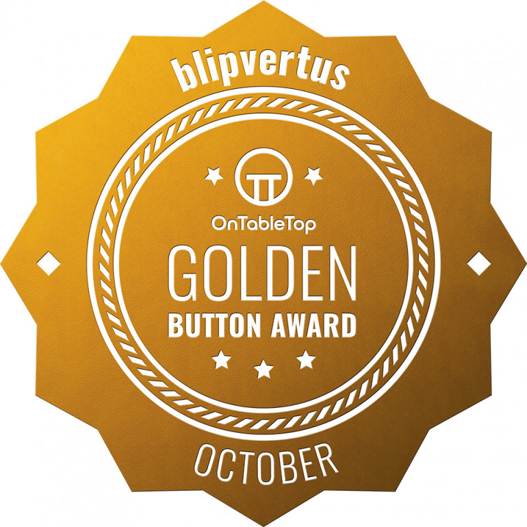 Thanks for the Golden Button! It's fun to be recognized especially given how much talent is here. Guess I've got to keep painting, don't I?