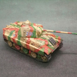 Paint job refresh continues - Panther and not a tank.
