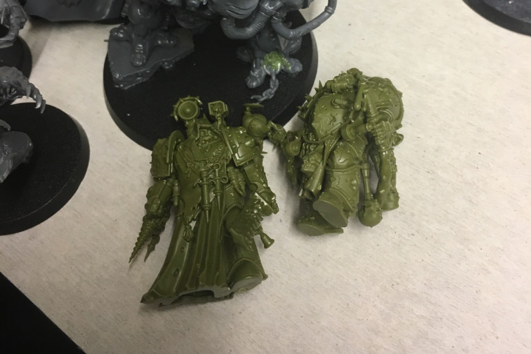 Got a couple more characters from Conquest ready for priming.