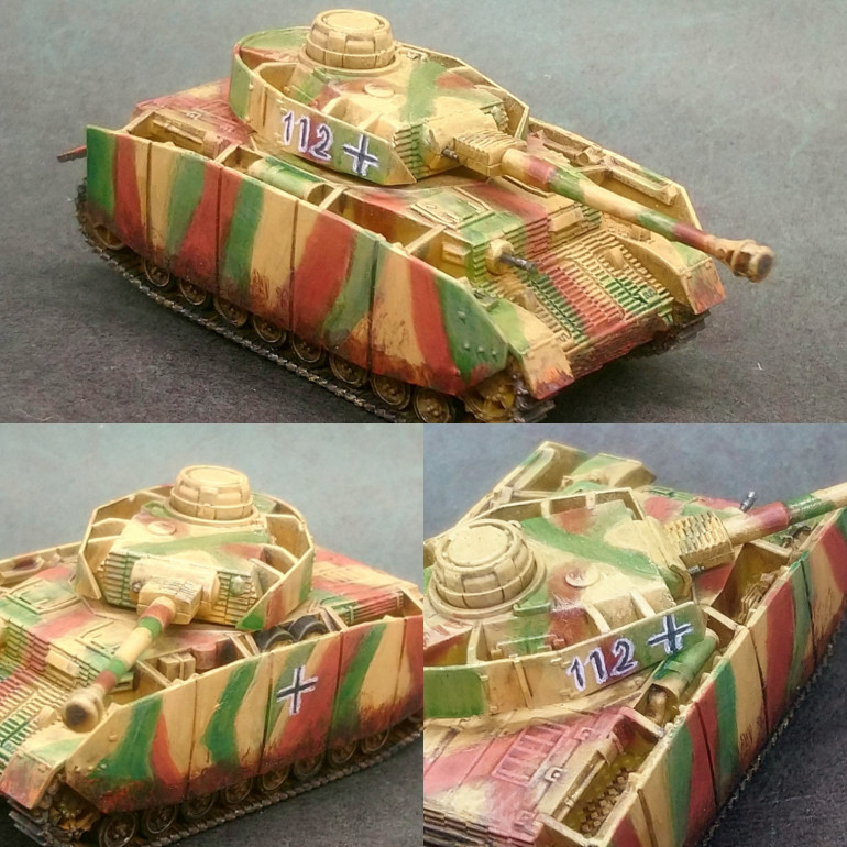 Panzer IV. 60 minute makeover.