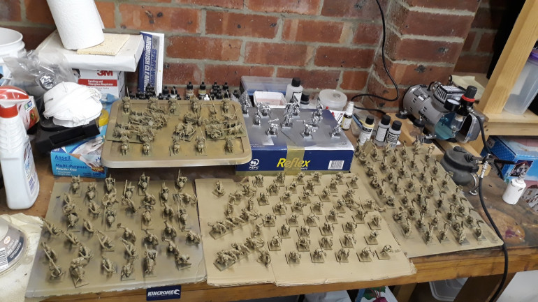 Workbench as of 1st Orctober...