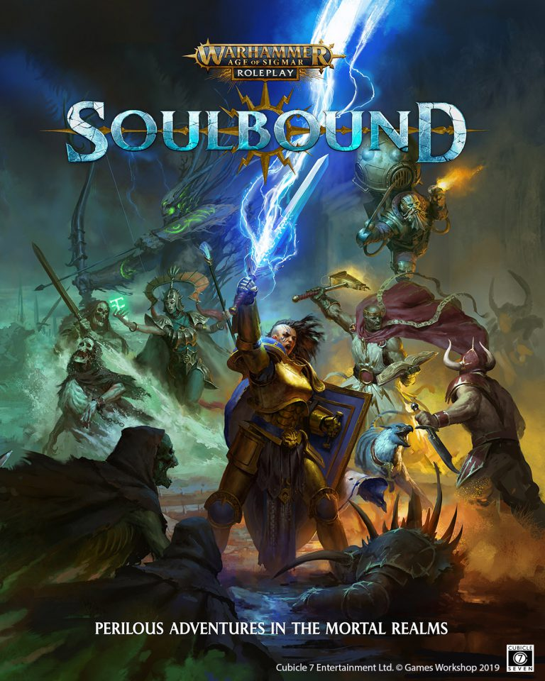 Age Of Sigmar Soulbound Core Box Cover - Cubicle 7