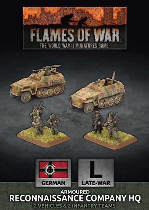 Armoured Reconnaissance Company HQ - Flames Of War