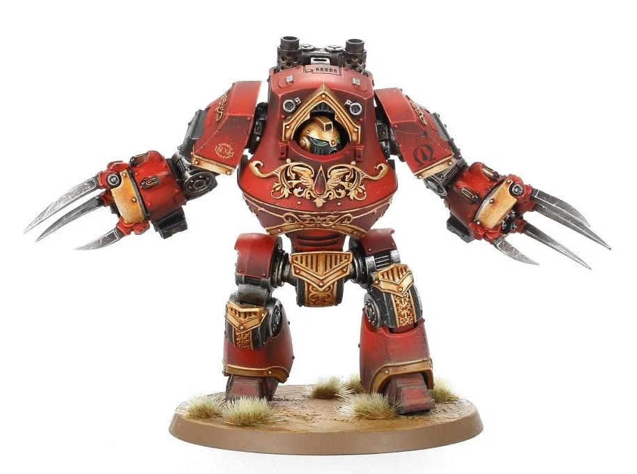 Blood Angels Legion Contemptor-Incaendius Class Dreadnought #1 - Forge World