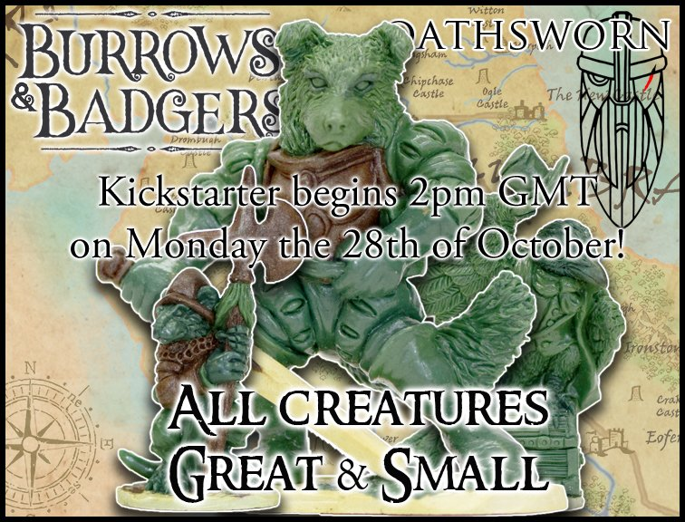 Burrows & Badgers KS - Oathsworn Miniatures