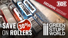 CoG Deal: 30% OFF Green Stuff World Rolling Pins