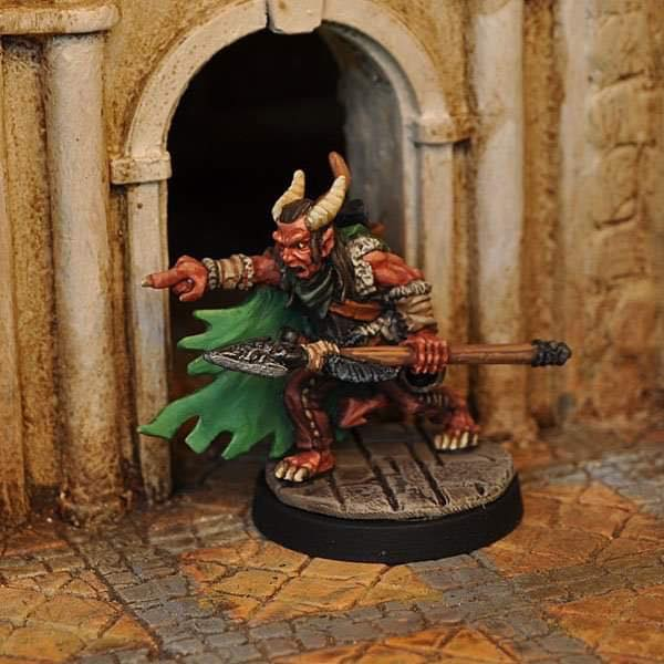 Devil-kin Warlock - Otherworld Miniatures