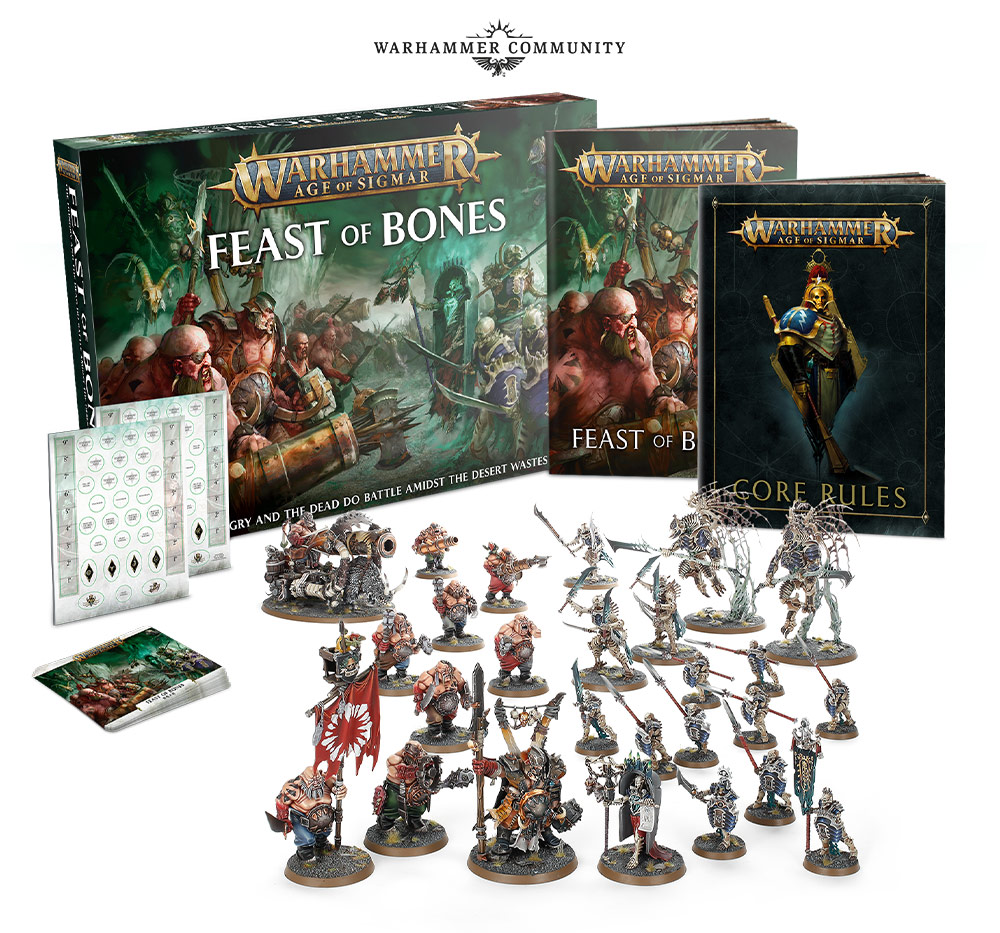 Feast Of Bones Set - Age Of Sigmar