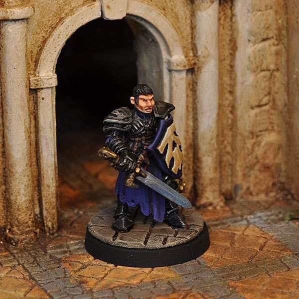 Female Anti-Paladin - Otherworld Miniatures