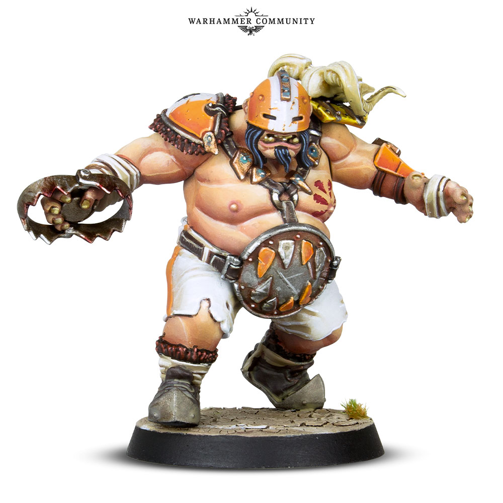 Fire Mountain Gut Busters Ogre #1 - Blood Bowl