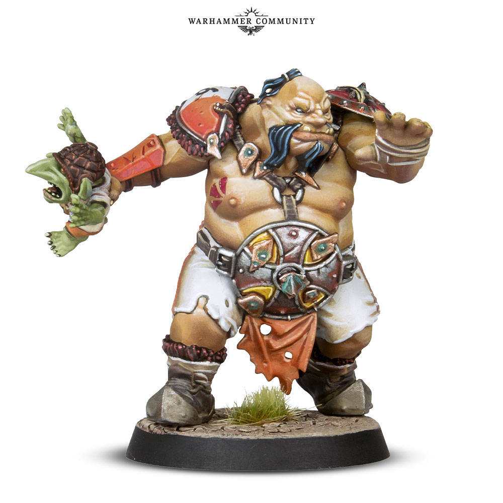 Fire Mountain Gut Busters Ogre #2 - Blood Bowl