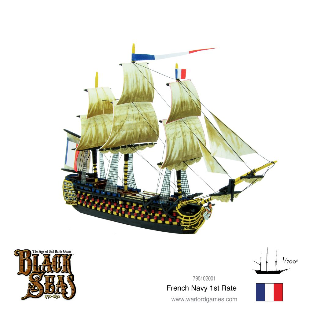 French Navy 1st Rate #1 - Black Seas