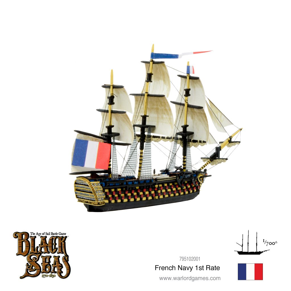 French Navy 1st Rate #2 - Black Seas