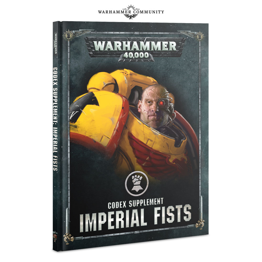 Imperial Fists Codex - Games Workshop