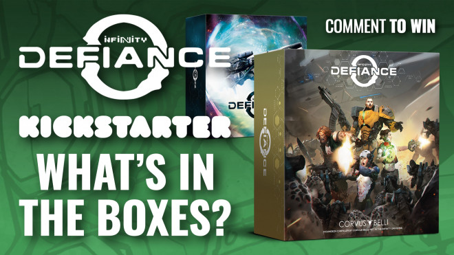 Infinity: Defiance Week – Inside The Core Set & Collector's Edition