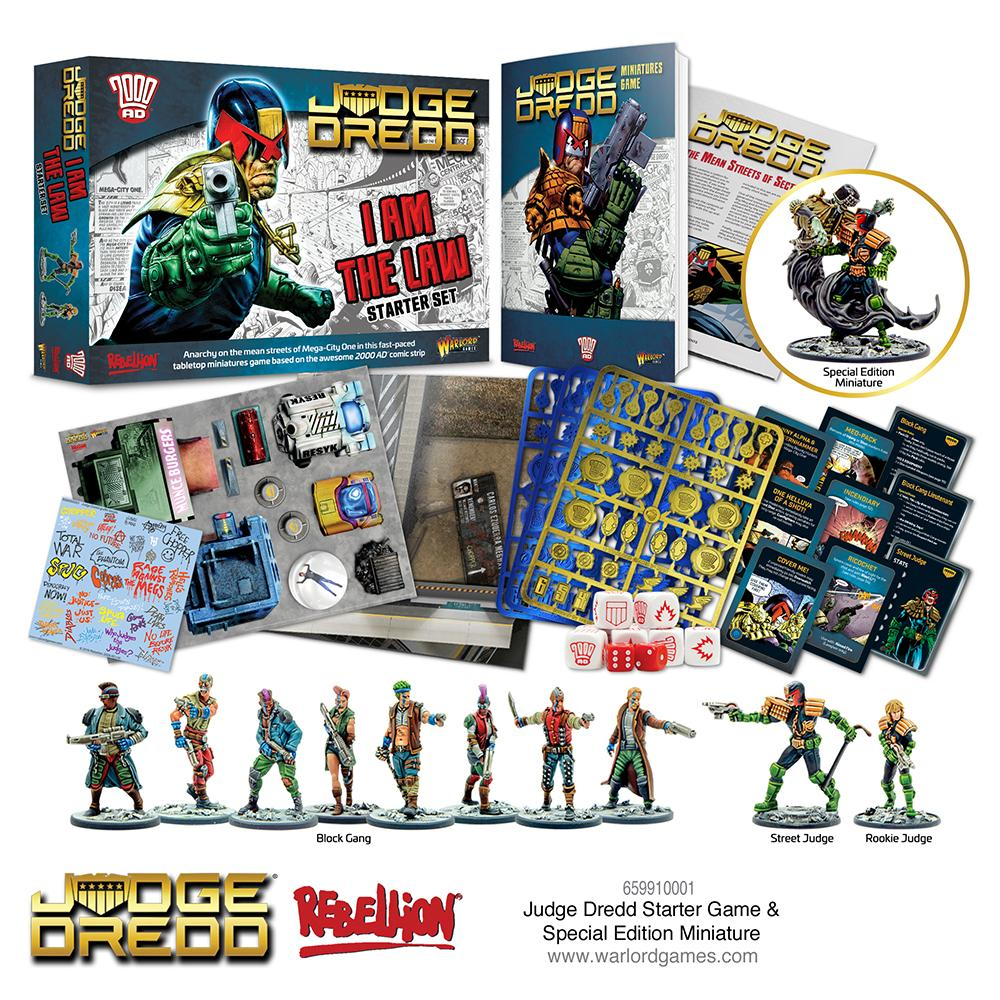 Judge Dredd I Am The Law - Warlord Games