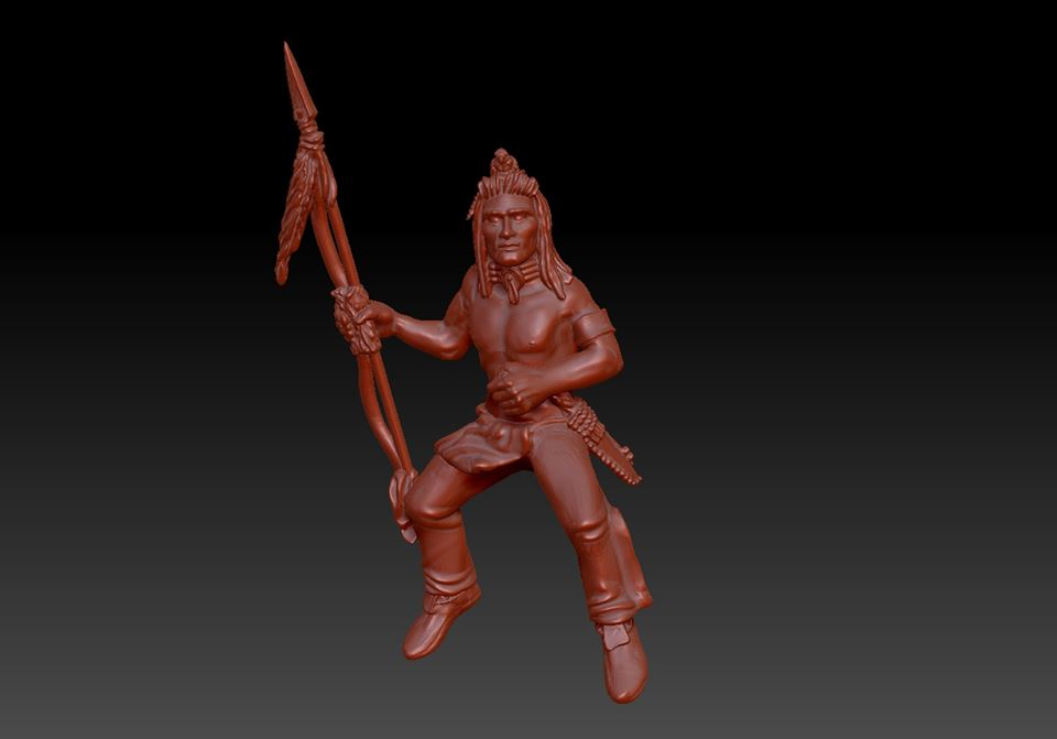 Lakota Native - Knuckleduster Miniatures