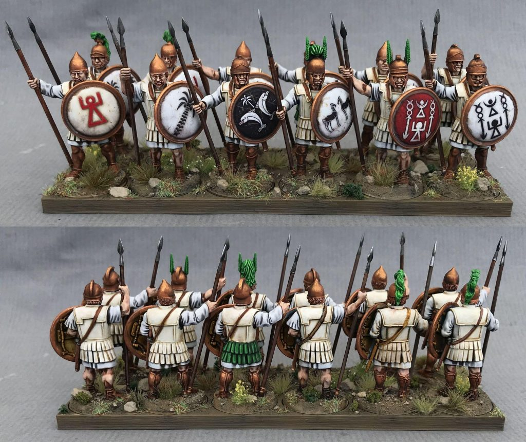 Libyan Spearmen by janus1004